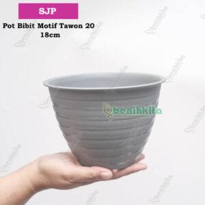 pot tawon 20 silver