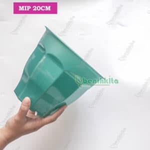 Pot kotak 30 hijau